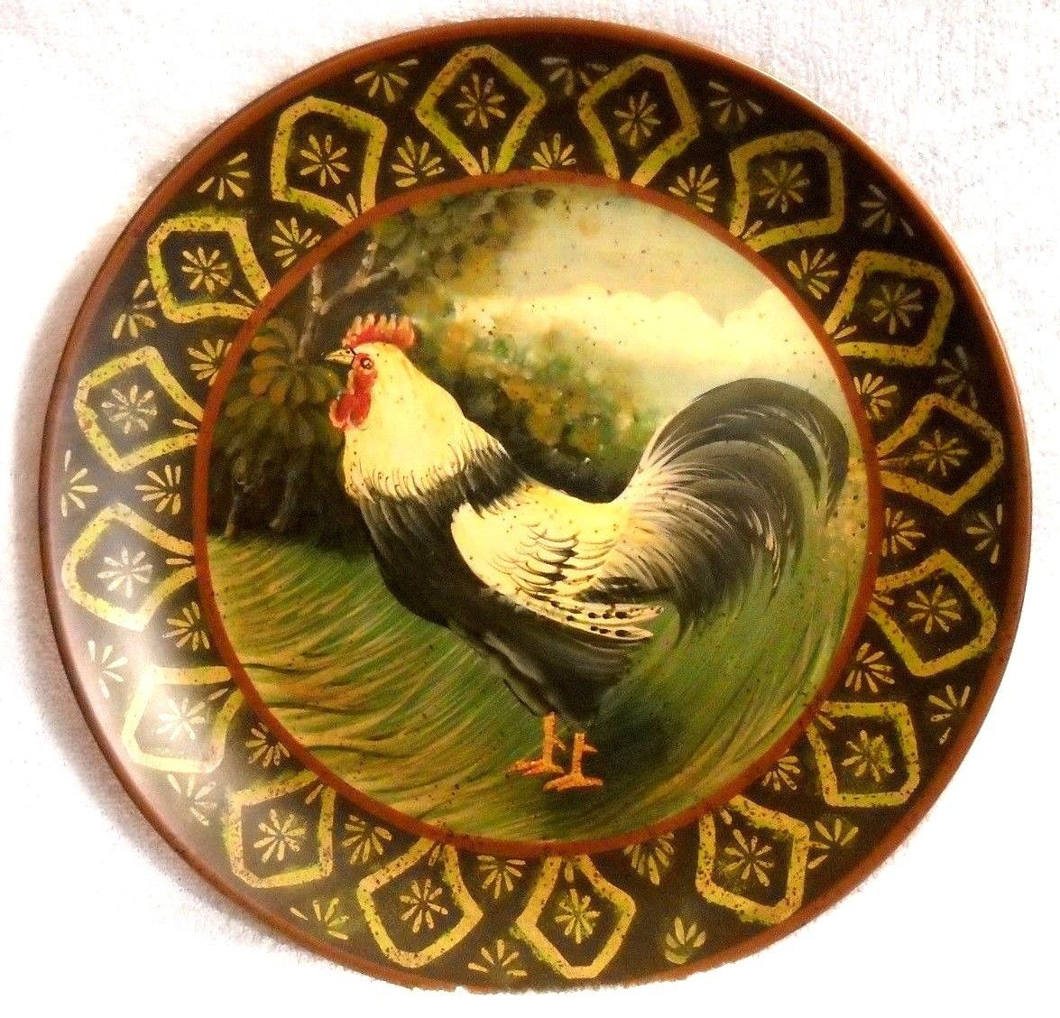 Raymond Waites Rooster Plate 10\