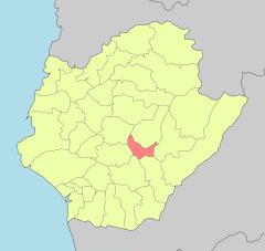 台南山上區 地理位置