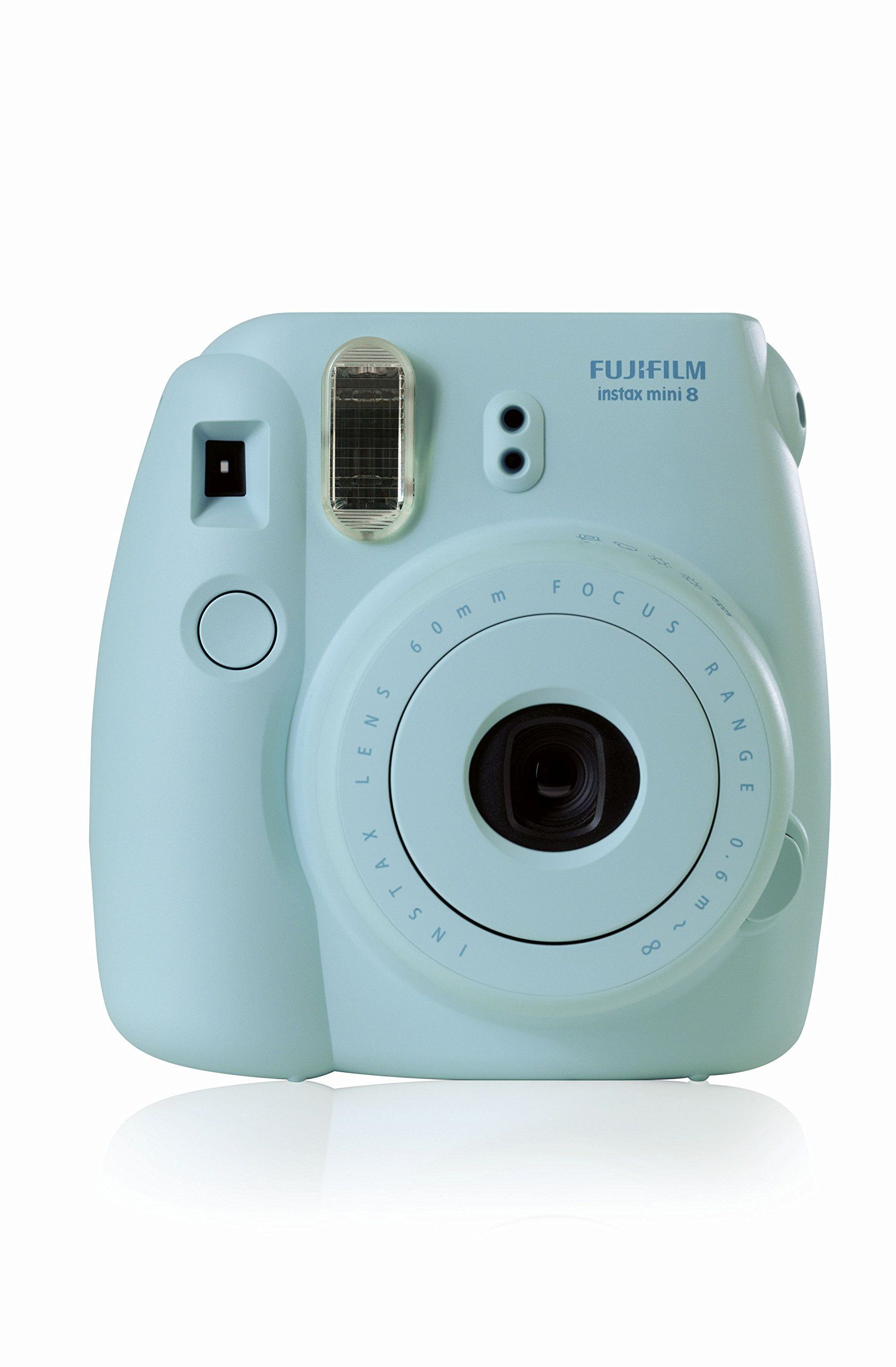 Amazon Com Fujifilm Instax Mini 8 With Strap And Batteries Blue