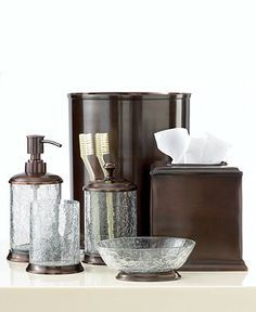 Oil Rubbed Bronze Bathroom Set Google Search Oil Rubbed Bronze Bathroom Accessories Bath Accessories Bronze Bathroom Accessories