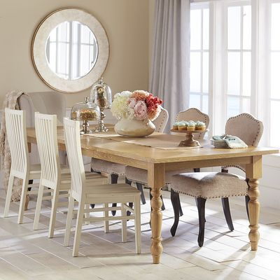 Torrance Extension Turned Leg Dining Table