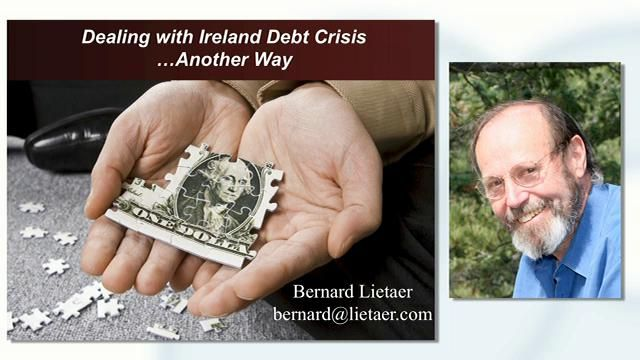Bernard Lietaer - The role of regional currencies in a wider currency union. Video by Feasta.