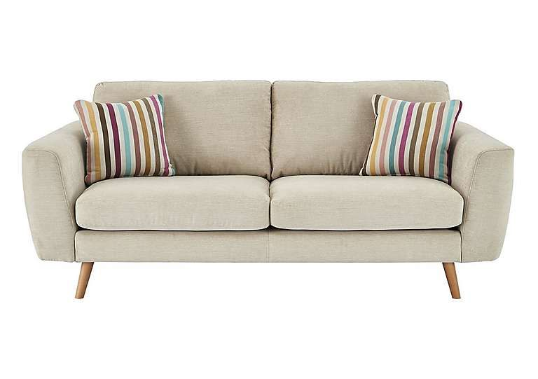 Furniture Village Jenson Large 2 Seater Fabric Sofa Scandi Style Pure And Simple And Very Afforda Beige Fabric Sofa Luxury Sofa Modern Two Seater Leather Sofa