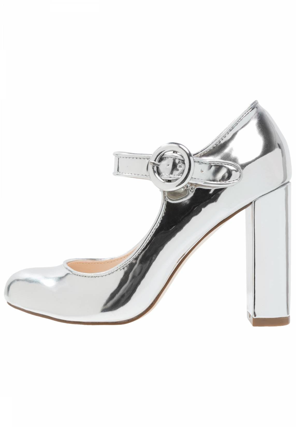 Even&Odd High heeled sandals - gunmetal TTSj0