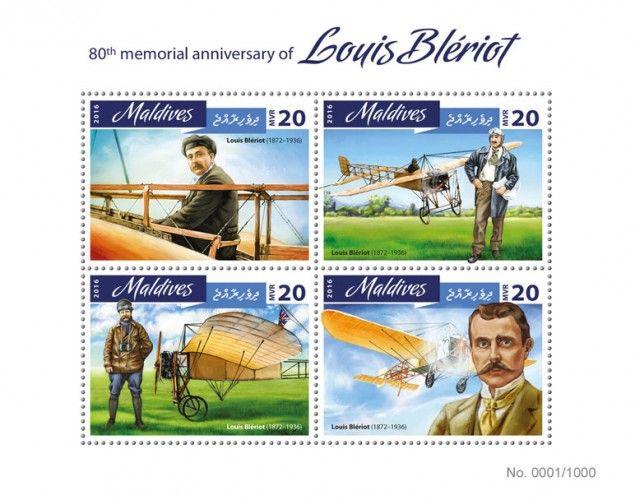 MLD16402a 80th memorial anniversary of Louis Bleriot (Louis Bleriot (1872-1936))