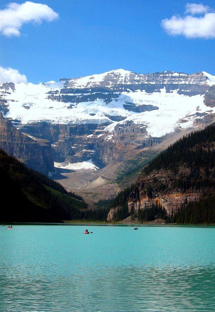 Lake Louise, Banff National Park Alberta, Canada #Travel