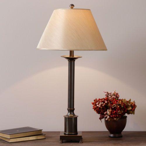 2c05b3e43 Column Table Lamp Accent Lighting Indoor Lighing Home Décor Desk Lamp