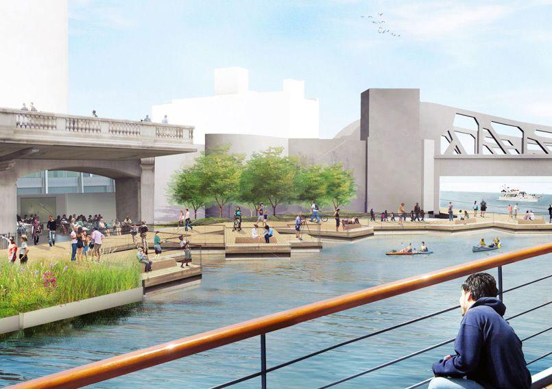 Galeria - Projeto Chicago Riverwalk: recuperar o rio - 11