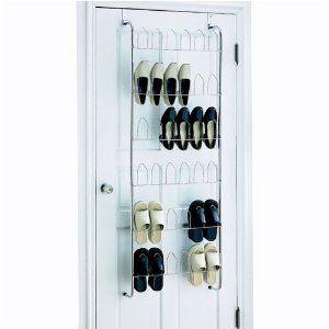 Organize It All Over The Door 18 Pair Wire Shoe