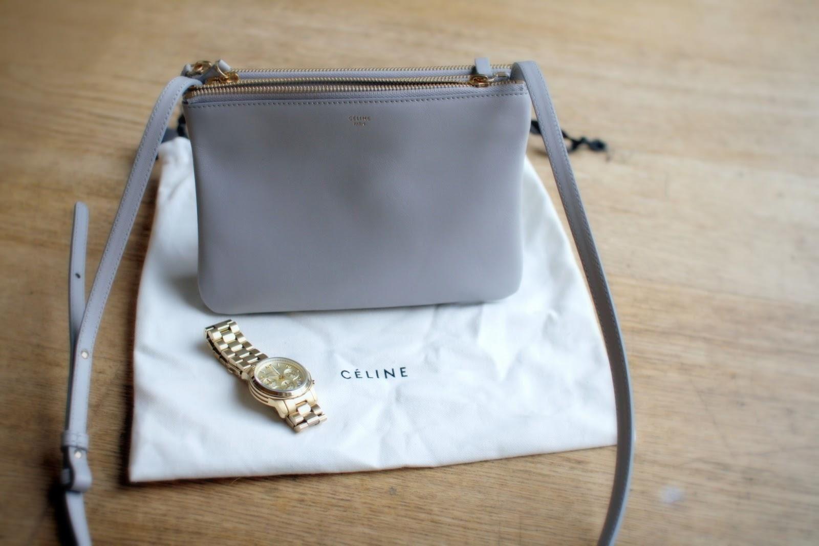 d3a674293826 My Little Pearl Grey Céline Trio Bag