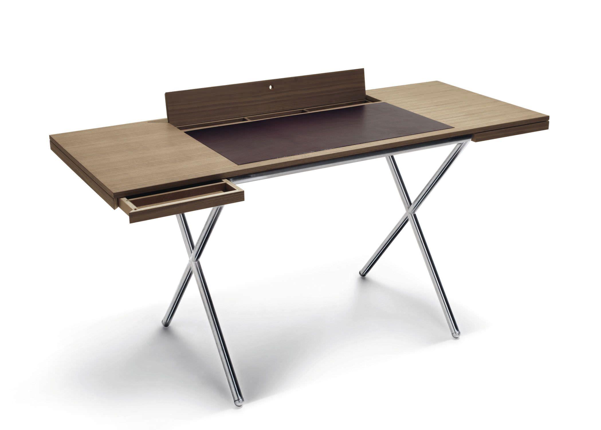 Schreibtisch Sekretär Modern genial schreibtisch holz metall deutsche deko