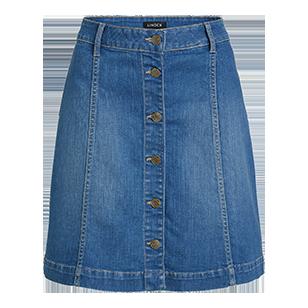 Denim+Skirt+-+Lindex