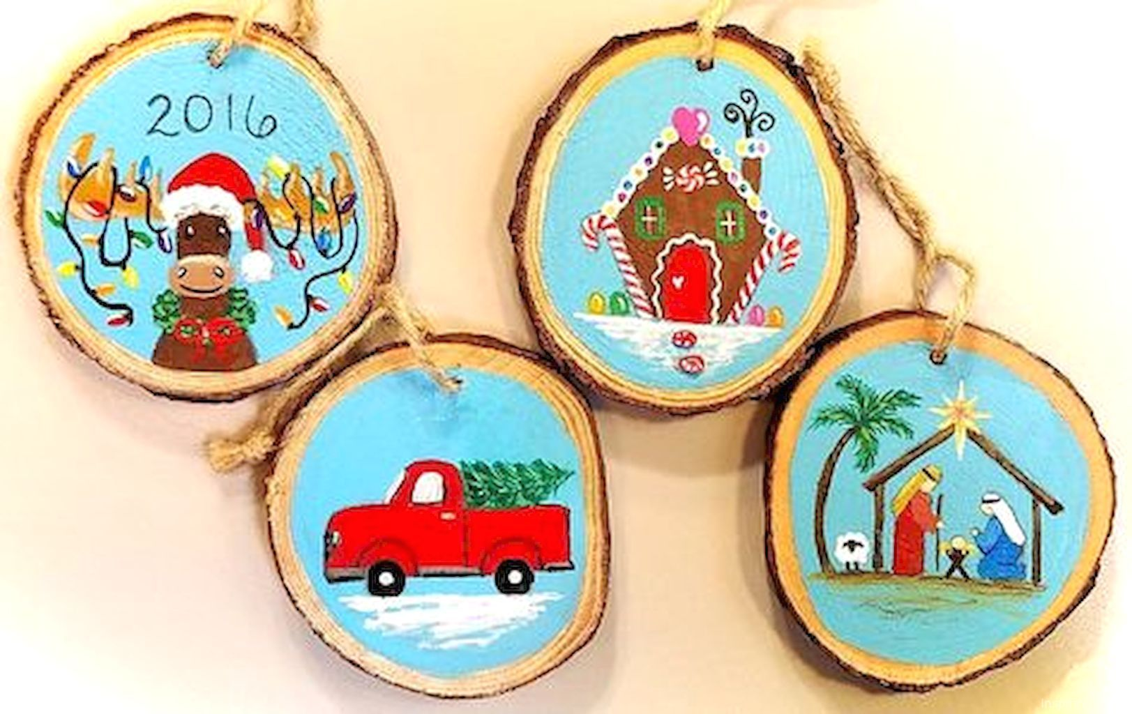 Gorgeous rustic diy wooden christmas ornaments ideas