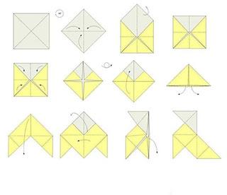 Que Puedo Hacer Hoy Pajaritas De Papel Animales De Origami Arte Del Origami Origami