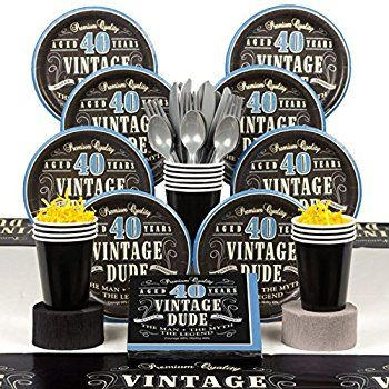 Image result for mens 40th birthday theme Mikes 40th
