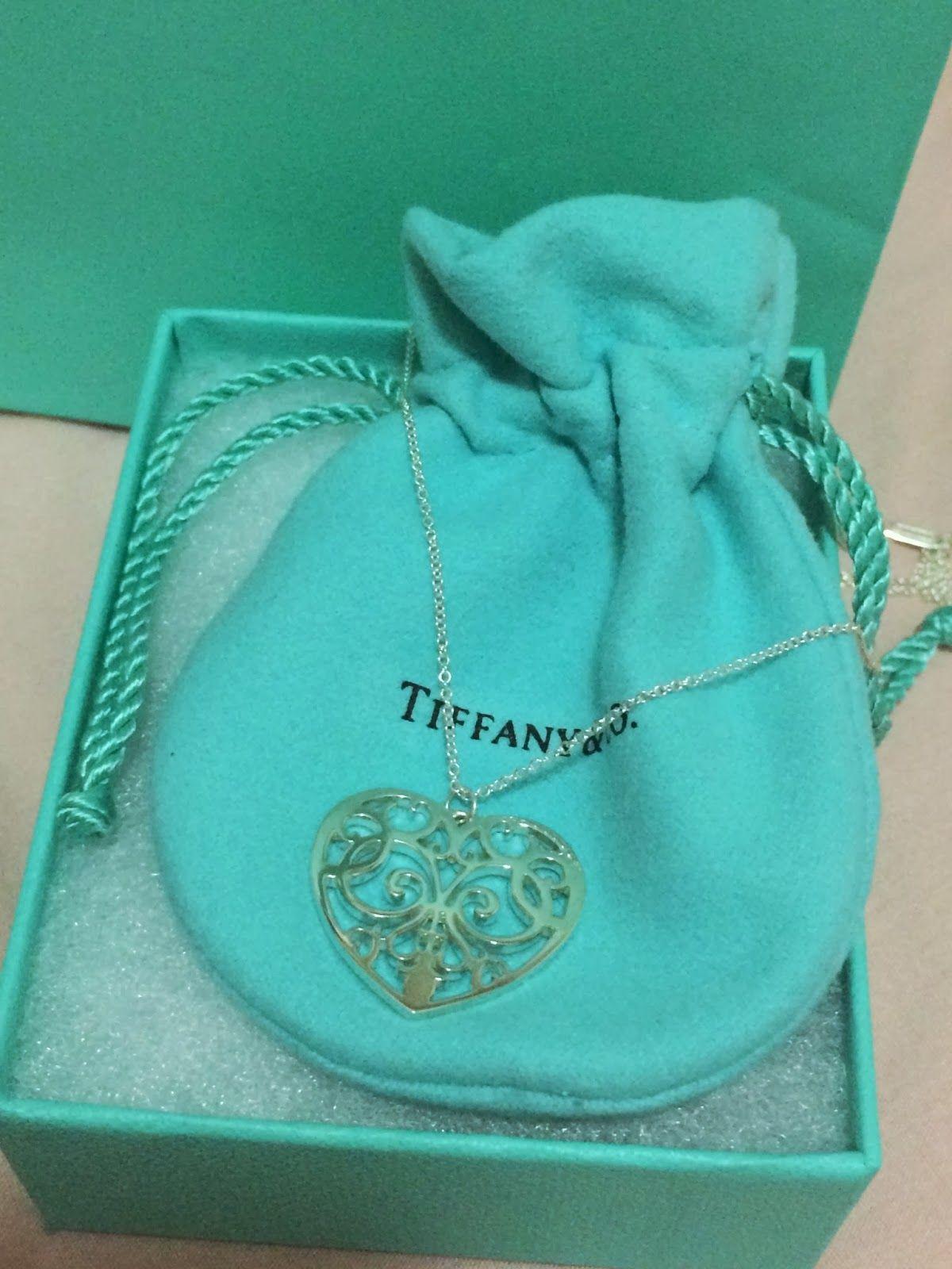 Little blue box of happiness Tiffany Enchant Heart Pendant