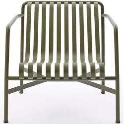 Photo of Hay Lounge-Sessel Low Palissade grün, Designer Ronan & Erwan Bouroullec, 70.3×73.1×81.2 cm Hay