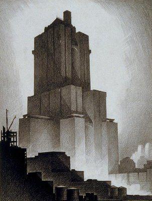 The Cities of Hugh Ferriss
