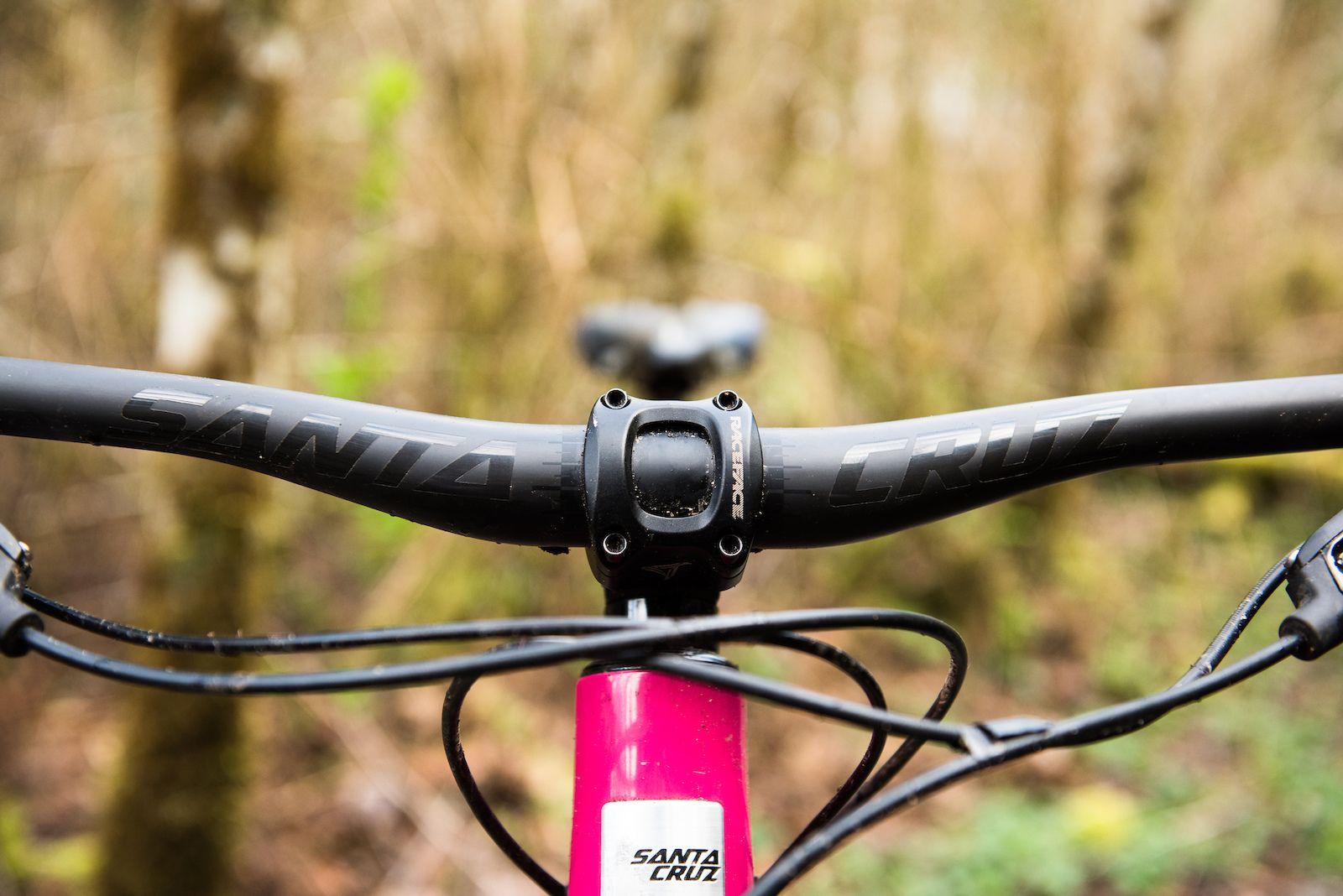 Renthal FatBar Carbon Handlebar 40mm Rise 800mm Width 35mm Clamp