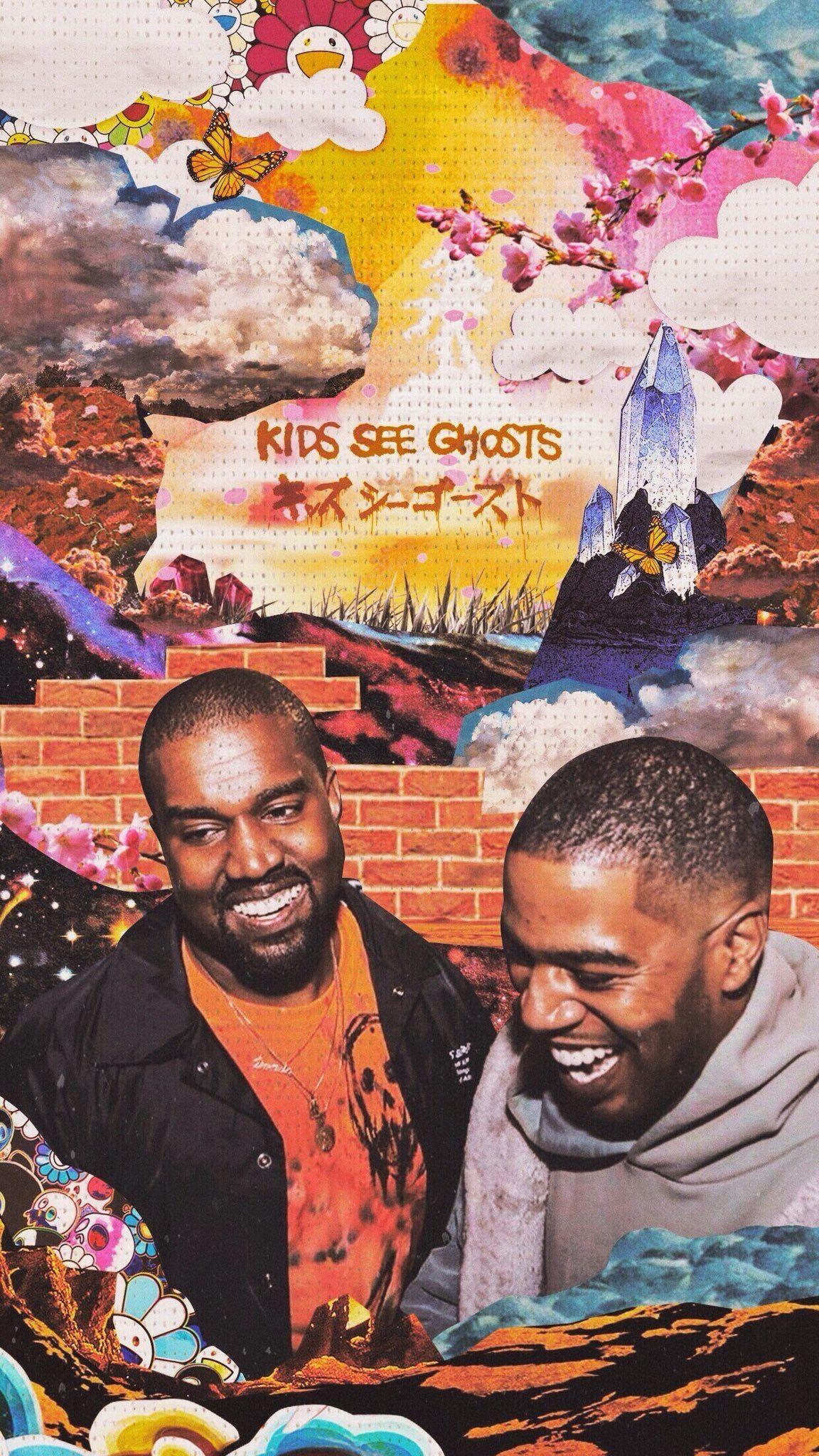 Pin By Arianna On Kanye West Kid Cudi Wallpaper Kanye West Wallpaper Hip Hop Art