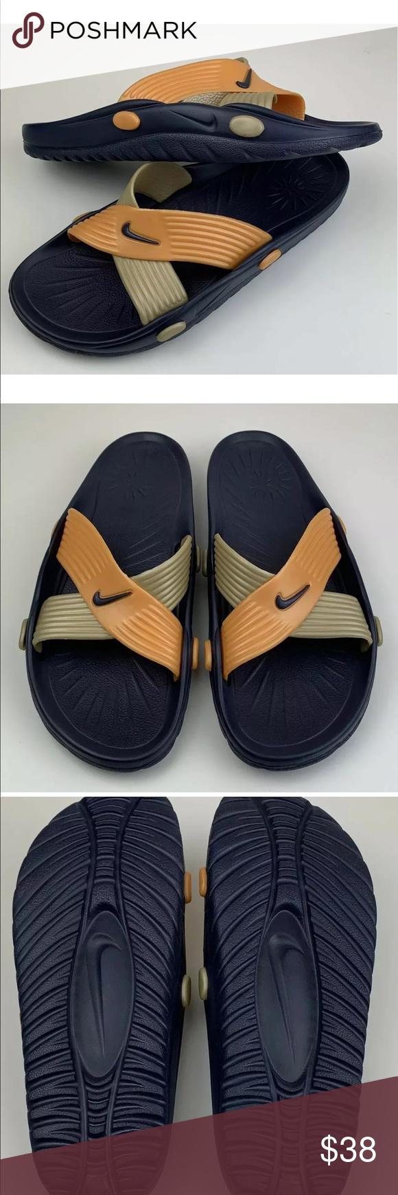 VTG 90s Nike slides sandals women's 10