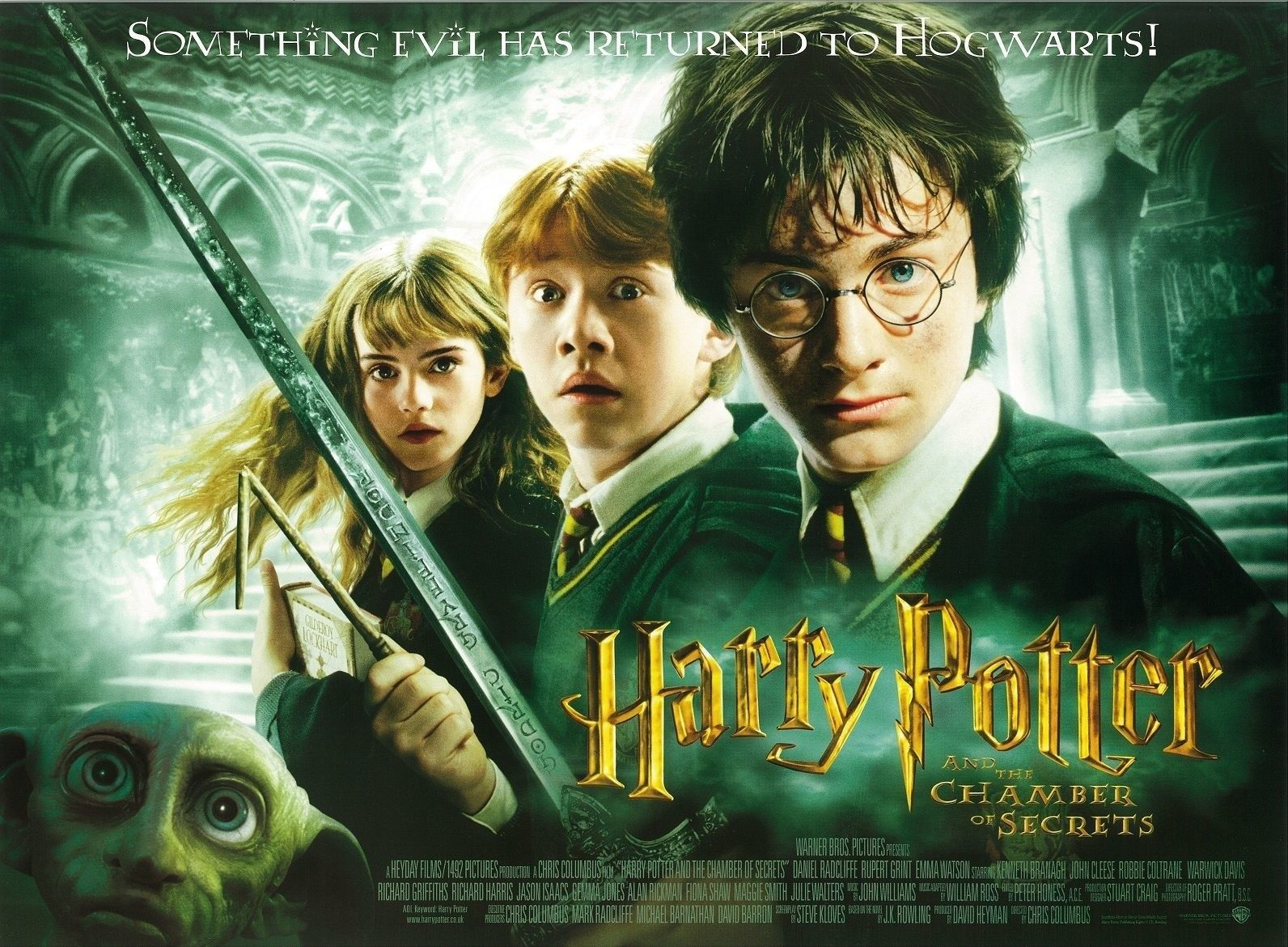 All The Great Things The Harry Potter Movies Added And All The Things They Shouldn T Have Harry Potter Movies Chamber Of Secrets Harry Potter Movie Posters