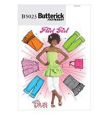 Butterick B5023 Pattern - Childs'/Girls' Top, Skirt & Pants  7-14