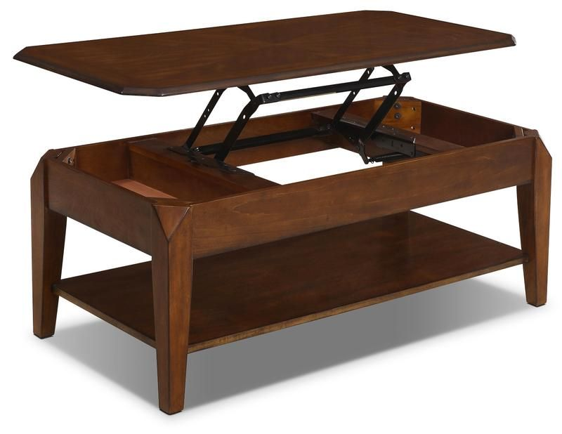 Duntara Coffee Table With Lift Top Table A Cafe Duntara A Plateau Relevable Coffee Table Walmart Coffee Table That Raises Up Lift Coffee Table