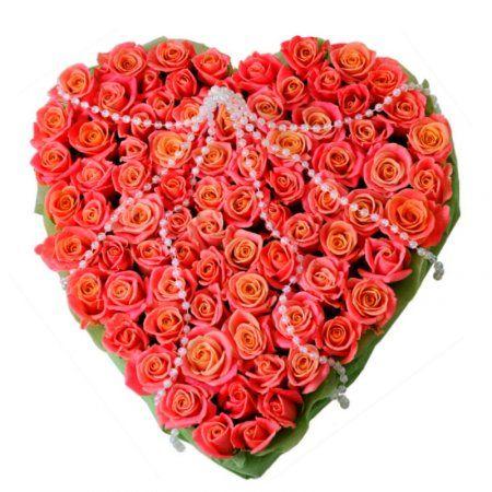 Букеты в виде сердечка, сон букет белых цветов в вазе