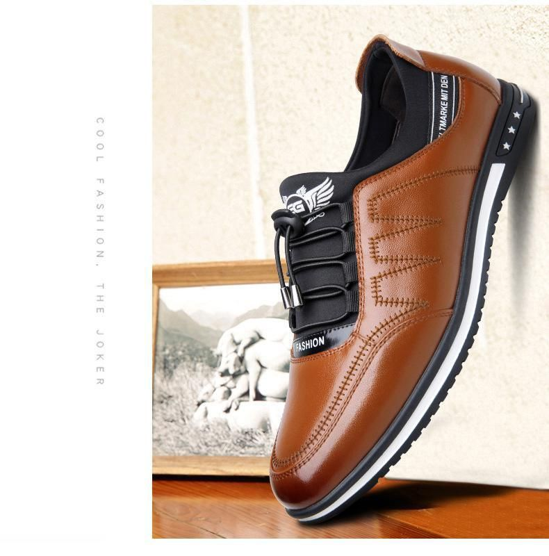 eddd7b9a2e96d2 Shoes - 2019 Men's Fashion Casual Leather Shoes in 2019 | Shoes ...