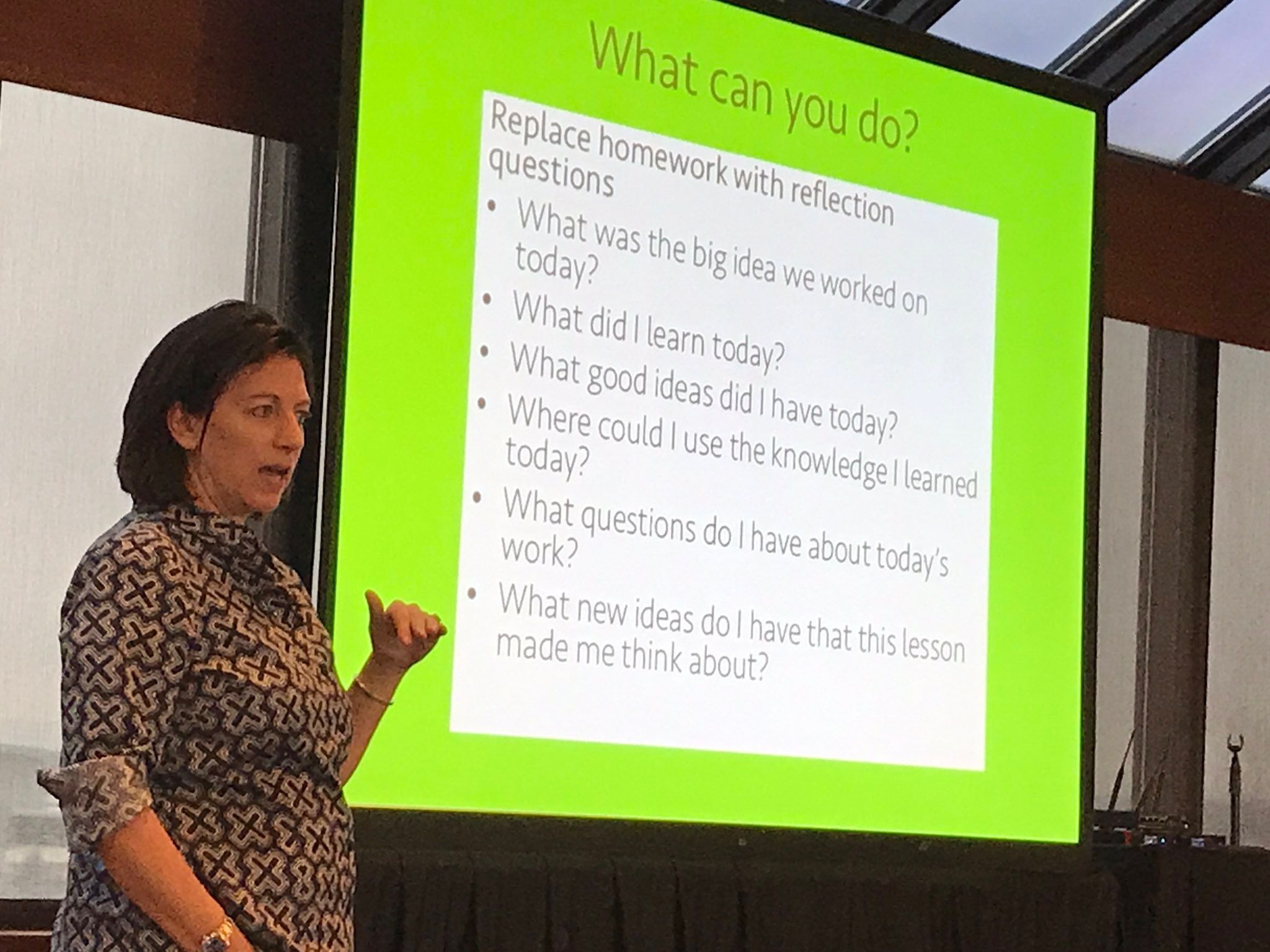 Homework Reflection Questions From Jo Boaler
