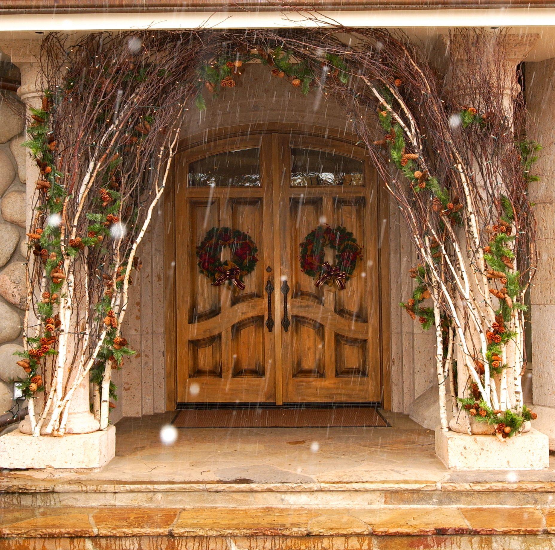 Wedding Chapel Decoration Ideas: Aspen Branch Original