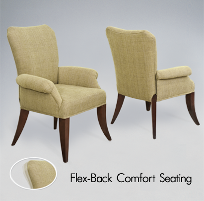 Arm Chair Dining Room Inspiration Darafeev Treviso Flexback Dining Chairs With Arms  Wrong Color Review