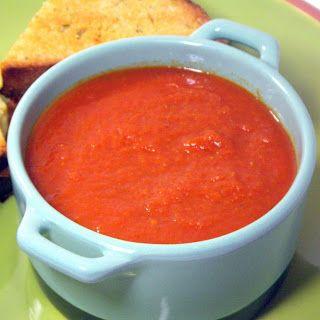 Inspired By eRecipeCards: Italian Tomato Soup (Zuppa di Pomodoro) in a Crock Pot