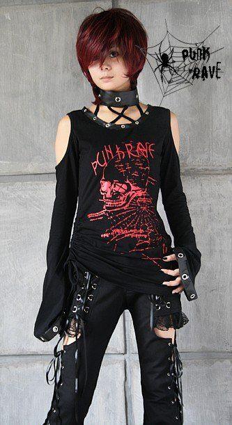 cae74d62c636 camisas de mujer gotica - Buscar con Google   blusas punk   Ropa ...