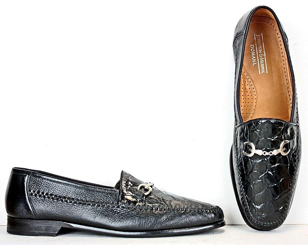 Johnston Murphy Domani Mens Bit Loafers Size 13 M Black Leather Dress Shoes Ml5 Johnstonmurphy Black Leather Dress Shoes Leather Dress Shoes Dress Shoes Men [ 794 x 1000 Pixel ]