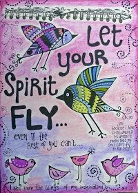 LET YOUR SPIRIT FLY ...