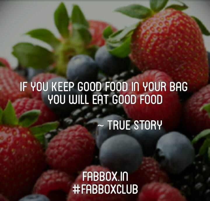 Its simple, silly! wink emoticon #eathealthy #snackgasms #fabboxclub #onthego