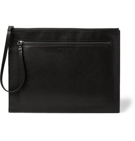 Maison Martin Margiela Leather Pouch   | MR PORTER