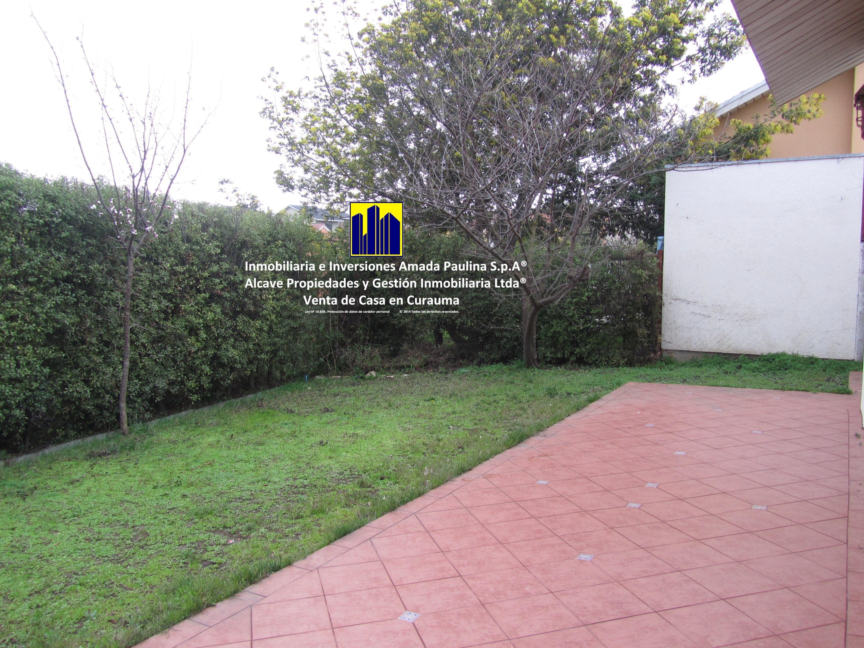 23.-Inmobiliaria e Inversiones Amada Paulina S.p.A® Alcave Propiedades y Gestión Inmobiliaria Ltda®                   Venta de Casa en Curauma
