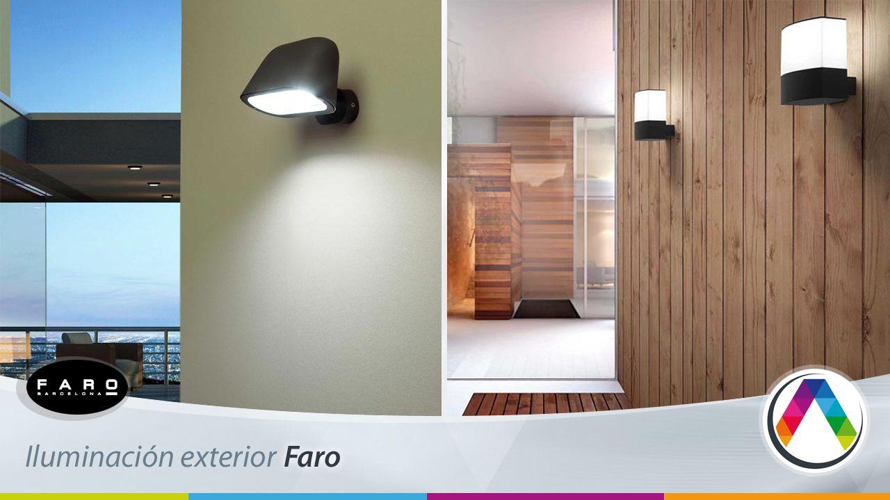 """Iluminación exterior """"IDEAS"""" de La Casa de la Lámpara"""