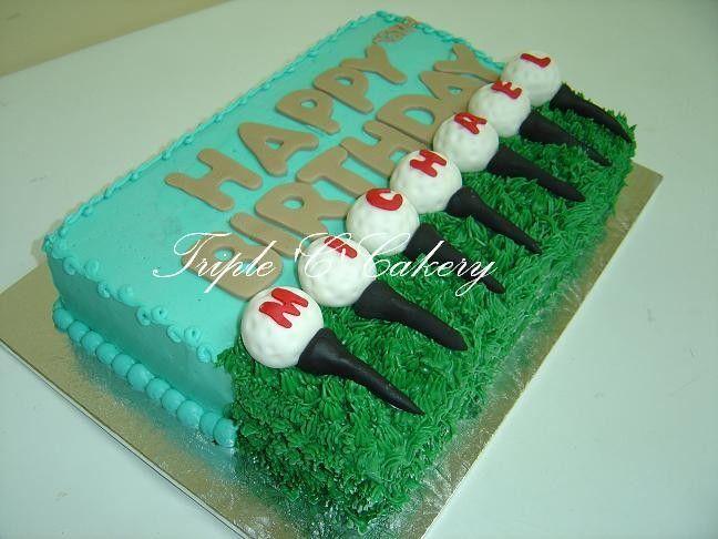 Image result for golfer birthday cake Cakes Pinterest Birthday