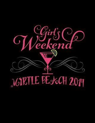 The Front Of My Girls Weekend Shirt Girls Weekend