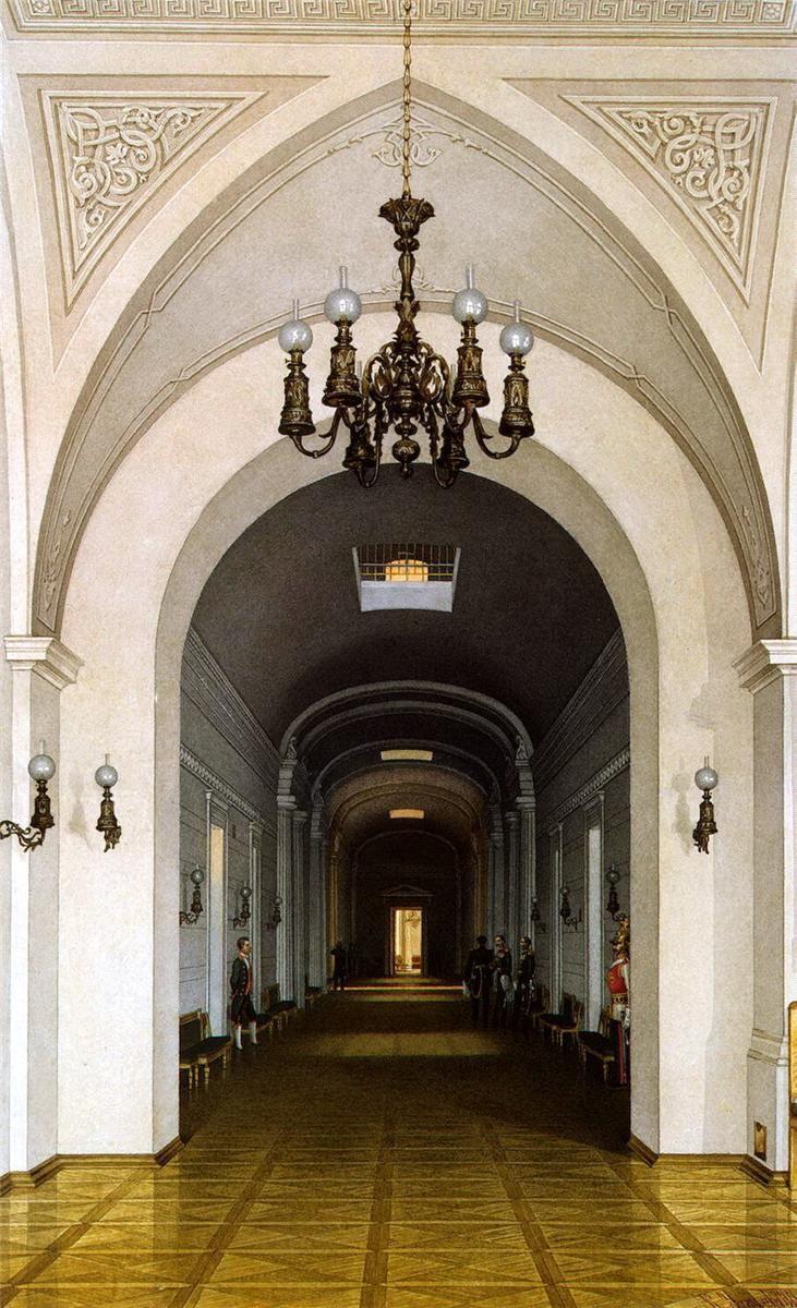 Inside Out Interiors Style Sunday: Watercolor, KA Ukhtomsky Winter Palace, Smolny