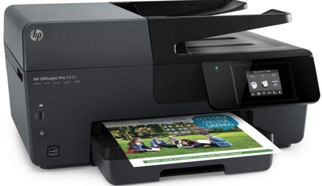 HP Officejet Pro 6830 image Hp officejet, Hp officejet