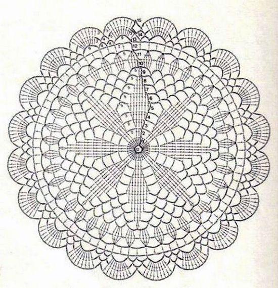 Centrino Uncinetto Schema Cerca Con Google Uncinetto Crochet