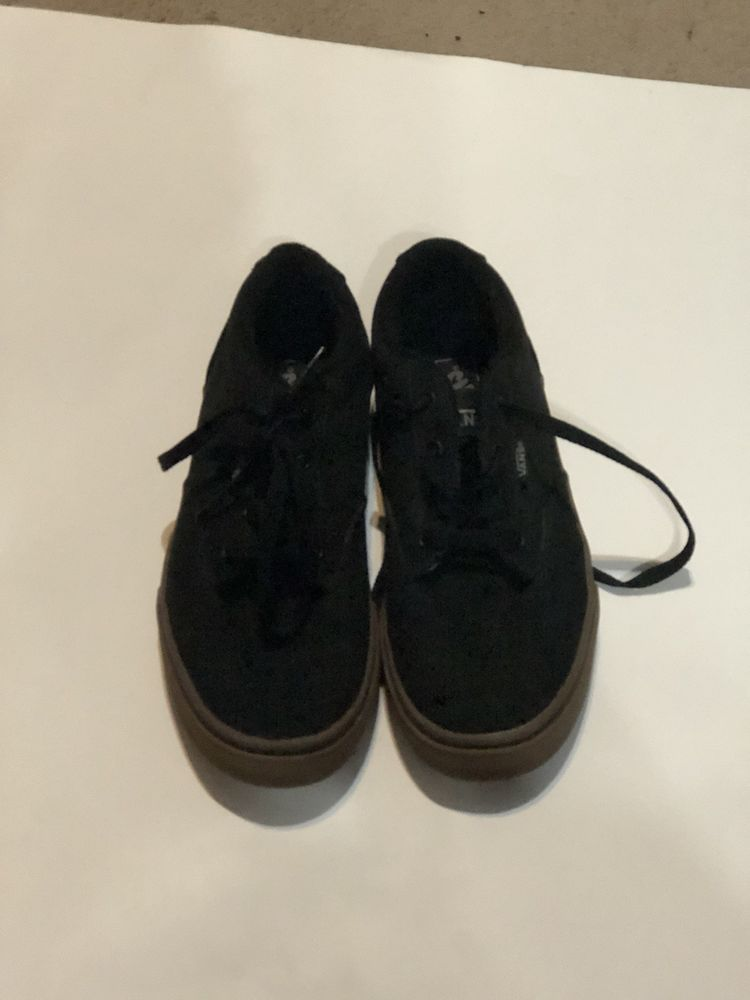 c9cd14d9d723ff VANS Sneakers Size 7 Black Canvas Skateboard Shoes Men s VANS Off The Wall   fashion  clothing  shoes  accessories  mensshoes  athleticshoes (ebay link)