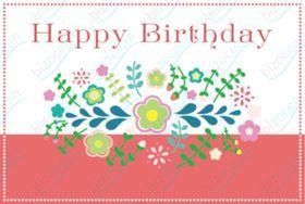 無料ダウンロード 可愛い印刷して使えるバースデーカード テンプレート 誕生日 祝いメッセージ Naver まとめ Happy Birthday Birthday Peace Symbol