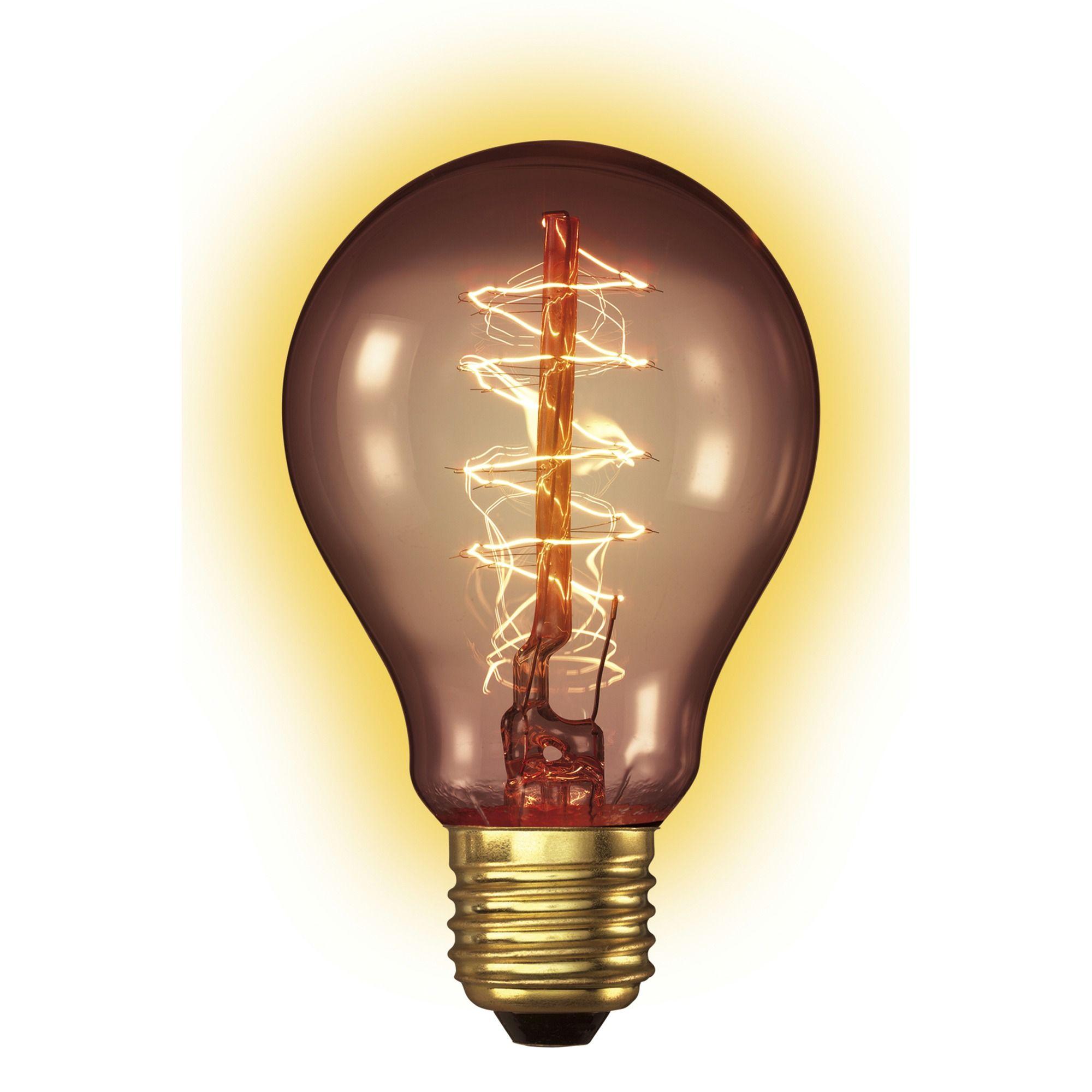 Calex Goldline Filamentlamp Peer E27 40w