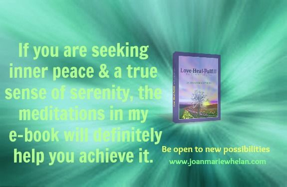 There is a solution waiting for you to explore!  www.joanmariewhelan.com
